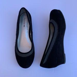American Eagle Women's Shoes Wedge Black US 4